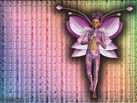 fairy - poser, fairy, 3d, abstract, color