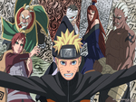 Naruto & The Five Kages
