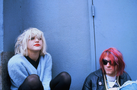 COURTNEY LOVE & KURT COBAIN - usa, music, entertainment, action