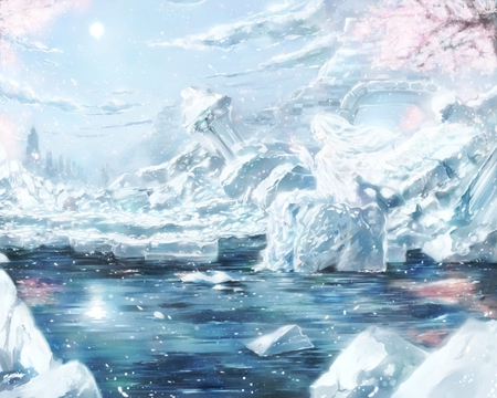 Ice world - Other & Anime Background Wallpapers on Desktop ...