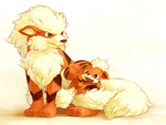 Growlithe and, Arcanine