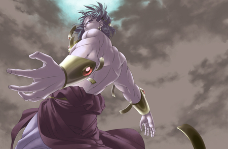 Broly - legendary, warrior, broly, base