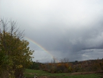 autumn rainbow skowhegan, maine