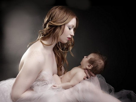 Mother - female, nice, woman, beautiful, mother, child