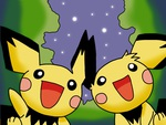Pichu Under The Stars