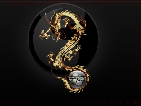 Golden dragon 3d and cg abstract background wallpapers for Gold 3d wallpaper