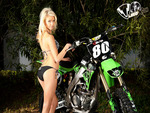 Blonde and Bike