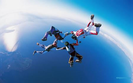 Skydiving - extreme, skydiving