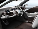 Interior of BMW i3 Concept