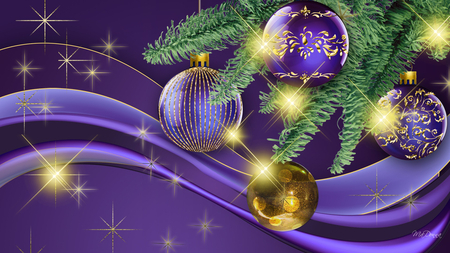 Christmas is purple other abstract background - Purple christmas desktop wallpaper ...