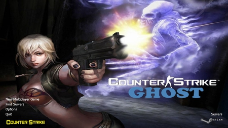 Counter Strike Ghost - girl, gunner, counter strike, ghost