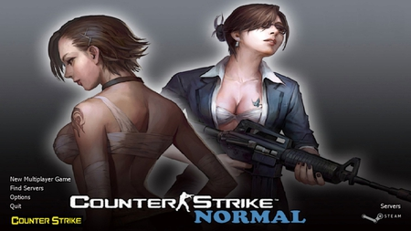 Counter Strike Normal - game, gunner, girls, counter strike