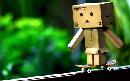 Danbo - amazon, skateboards, boxman, danbo
