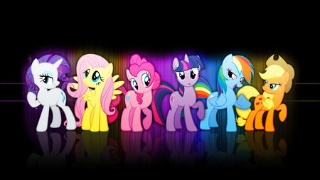 My Little Pony Crew - flutter shy, my, little, pony