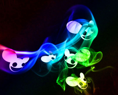 Deadmau5 Smoke - smoke, dubstep, deadmau5, dead, music, deadmouse, mouse