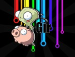 GIR And Piggy :D