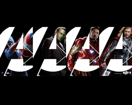 the avengers - iron man, hulk, thor, 2012, captain america