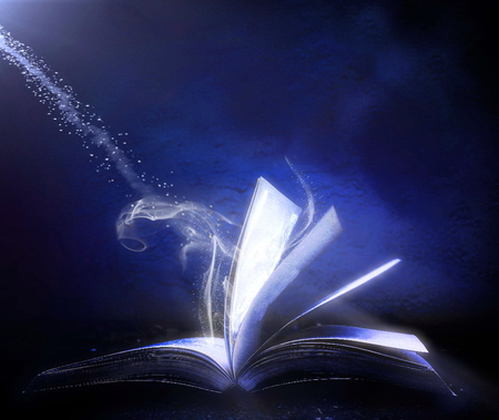 the magic of books 3d and cg amp abstract background