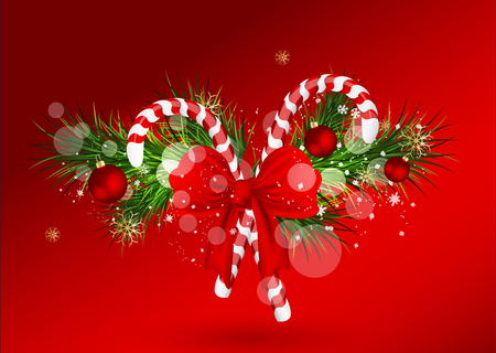 Merry Christmas - christmas, colors, ribbon, nice, merry christmas, balls, ball, red, beauty, beautiful, cool, lovely, holiday, snowflakes, pretty, happy new year