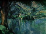 Cezanne - Lake at Annency