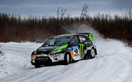 Snow Drift Subaru Cars Background Wallpapers On Desktop Nexus