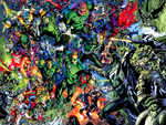 Blackest Night Rainbow Army