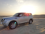 nissan patrol at sealine desert