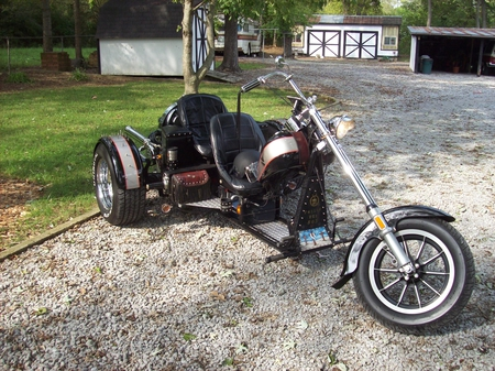 The Outlaw Lowrider - bikes, motorcycles, trike, lowrider, harley