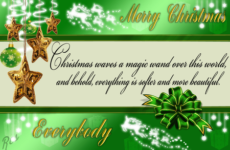 Christmas Quotes - wand, magic, quotes, christmas