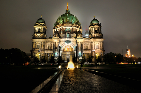 Berlin  Dom - hdr, dom, berlin, night