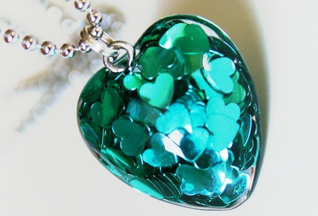 My Turquoise Heart, for all my Friends :) - turquoise, hearts, heart, friendship