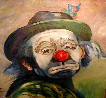 sad clown other amp people background wallpapers on