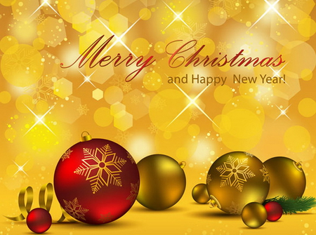 Merry Christmas and Happy New Year - 3D and CG & Abstract Background Wallpapers on Desktop Nexus ...