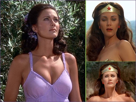Lynda Carter is Wonder Woman - diana prince, superheroes, lynda carter, wonder woman