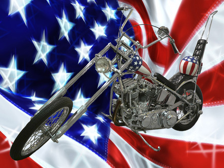 Easy Rider - bike, harley davidson, usa, chopper