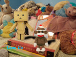 Danbo, Bill (the Sock Monkey) and Friends