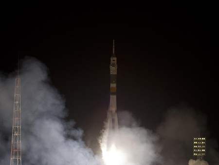 Expedition 30 To Space station... - have, we, lift, off
