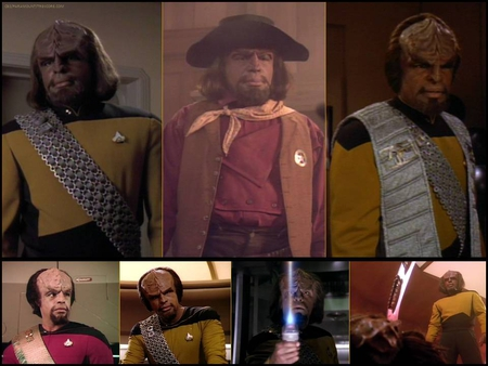 Michael Dorn as Lt. Worf from Star Trek: The Next Generation - klingon, klingons, tng, michael dorn, star trek, star trek the next generation, lt worf