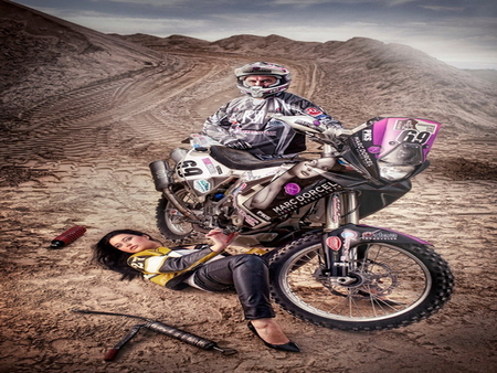 paris dakar 2012 yamaha motorcycles background wallpapers on desktop nexus image 917545. Black Bedroom Furniture Sets. Home Design Ideas
