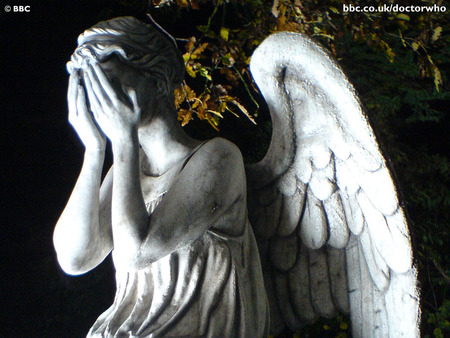Weeping Angel - show, cry, bbc, abstract, british, david tennant, weep, angle, adventure, sadness, statue, dr who, angel