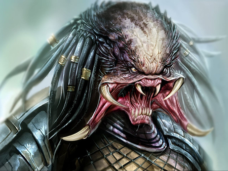 The Predator - alien, predator