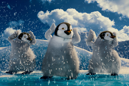 Happy Feet - happy, movie, penguin, animation