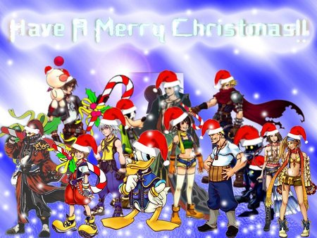 Merry Christmas! - Kingdom Hearts & Video Games Background ...