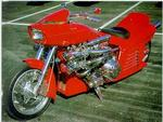 "arlen ness custom ""the big red one"""