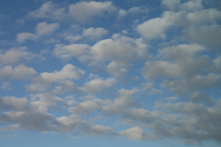 Clouds 02 - photography, clouds, sky, white, blue