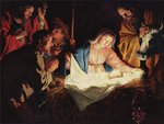 Gerard van Honthorst * The Nativity,1622