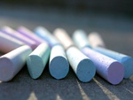 Colourful Chalks