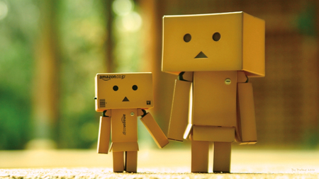 Danbo - dando danboard, photography, hd, little, character, dando