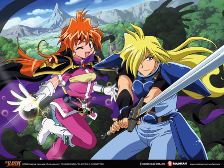 Until the End - gourry gabriev, lina inverse, slayers, the slayers