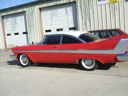 Christine ( 1958 Plymouth Fury ) - plymouth, christine, 1958, fury